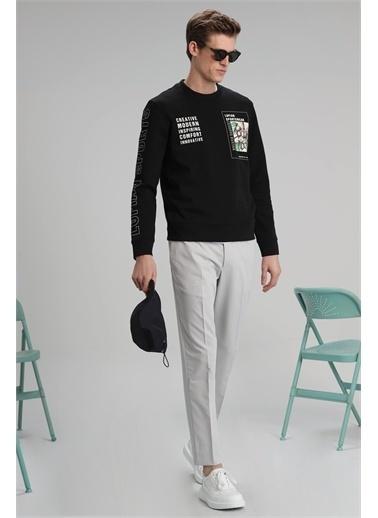 Lufian Brown Sweatshirt   Siyah